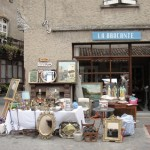 at the vide grenier