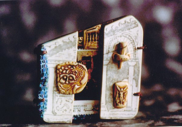 Venice Book Brooch