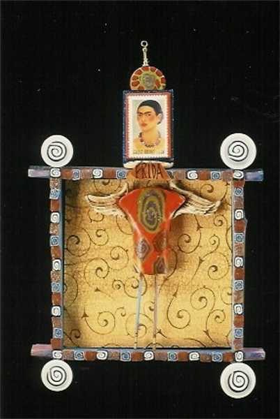 Frida Shrine and removable brooch