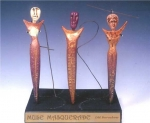 Muse Masquerade book Sculpture