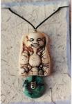 Ivory Buddha pendant