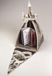 The Wayfarer's Tent: Unfolding Pyramid (open)
