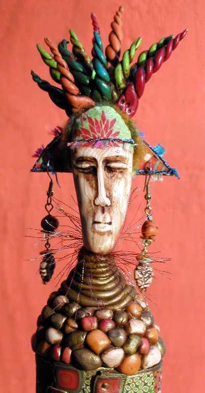 African Figure detail