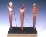 Muse Masquerade book Sculpture